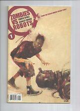 Zombies Vs Robots #1 & #2 First Prints, ASHLEY WOOD, 9.4 NM, IDW
