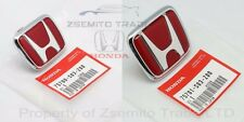Honda Civic EK9 Type R FRONT AND REAR EMBLEMS JDM Red Genuine OEM Badge MK6