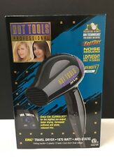 Anti-Static Travel Hair Dryer by Hot Tools Professional - MODEL 1039