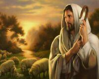 JESUS THE SHEPHERD - 8  x 10 Print