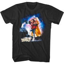 Back to The Future Part 2 Lightning Men's T-Shirt Time Travel 80s Movie Tee