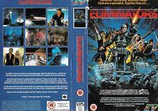 RENTAL VIDEO SLEEVE - EIV VIDEO LABEL - THE ELIMINATORS / CHARLES BAND