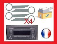 cles outils extraction démontage autoradio audi concert 3