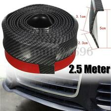 2.5M Universal Car SUV Front Bumper Splitter Body Spoiler Lip Skirt Protector AU