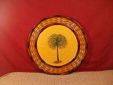 "Pacfic Rim China Palm Design Dinner Plate 11 1/8"" #1"