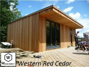 SAMPLE - Canadian Western Red Cedar &  Tongue & Groove Timber Cladding - TGV