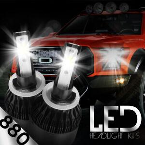 XENTEC LED HID Foglight Conversion kit 899 6000K for 1995-1998 Ford Explorer