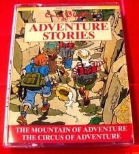 Enid Blyton Adventure Stories Mountain Of/Circus 2-Tape Audio Book Roger Blake