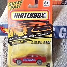 Matchbox BMW 850i the RIPPER #49 Superfast Skull Crossbones Halloween Diecast BC