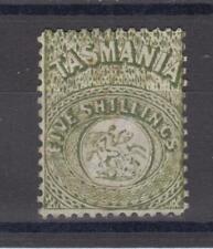 Tasmania fiscal F15 , no gum, 1862 cv= $ 250