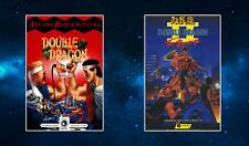 Double Dragon 1 & 2 Fridge Magnet Set NEW. Classic Arcade Beat Em Up Art