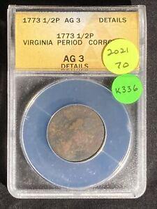 1773 Half Cent K336