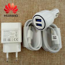 Rápido Cargador de coche de Red y Cable Tipo C Para Huawei Mate9 P20 Pro P10 Pus