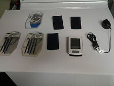 PALM ONE ZIRE PDA, CHARGER, COVERS, STYLUS
