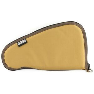 """Uncle Mike's Pistol Rug with Pocket Ballistic Nylon 10"""" Tan  42110"""