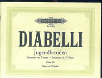 Diabelli : Jugendfreuden Opus 163 - Klavier zu 4 Händen