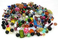 500g  Perlen Mix  Glasperlen, Schmuckperlen, Acrylperlen Wachsperlen usw... 01