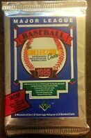 1989 Upper Deck Baseball Low Number Series Unopened Pack Possible Ken Griffey Jr