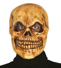 Protection Complète Masque Tête de Mort Halloween Horreur Latex OS