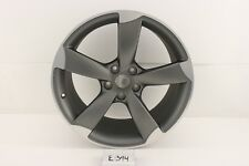 "NEW OEM ALLOY AUDI WHEEL 19"" 2012 2013 12 13 TT TTS RS scuffs ding GRAY MACHINED"