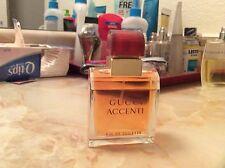 Rare Perfume Classic Gucci Accenti Eau De Toilette 1.7fl.oz 50ml 1.6 oz Spray