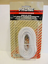 Lance Industries Phone Accessories Modular Telephone Extension Cord, T513W