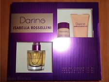Set DARING de Isabella Rossellini. Eau de parfum 50 ml + gel + body lotion. NEW