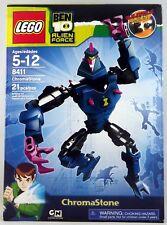 Lego 8411 Ben 10 Alien Force Chromastone Cartoon Network 21 pieces NIB