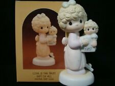 New ListingPrecious Moments-Love Is The Best Gift Of All-1987 Limited Edition Figurine