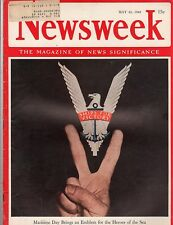 Newsweek 1942, May 25, Maritime Day Brings an Emblem For the Heroes of the Sea