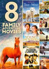 8 FAMILY ADVENTURE MOVIES 2 DISC SET DVD