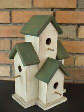 Small Condo Birdhouse wrens, chickadees decorative house Eastern White Pine 327