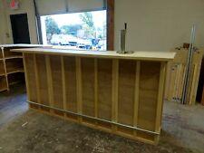 Home Bar Furniture, 96x24x42,Keg Tap, Drip Plate, Seats 4, S&H Incl