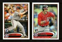 2012 Topps  WASHINGTON NATIONALS Team Set with Updates 32 Cards MINT