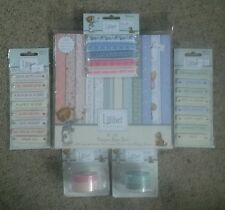 Lillibet Craft*Paper Tape Ribbon and Toppers*Job lot (1)
