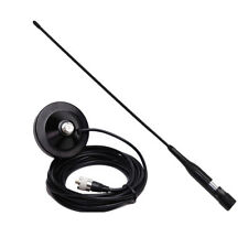 Dual Band VHF/UHF 144/430MHz Mobile Radio Antenna NLR2+ Magnetic Mount 5M Cable