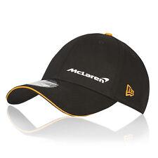 McLaren Official 2018 Essentials Cap Hat Headwear New Era 9FORTY