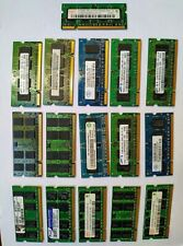 Joblot laptop ram 17 RAM modules from 2GB to 512MB