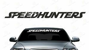 SpeedHunters Scheibenkeil Aufkleber Frontscheibe Sticker JDM Styling Tuning
