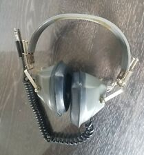 Superex headphones Electronics Corp Green Model St-M Yonkers, N.Y. Over the Ear