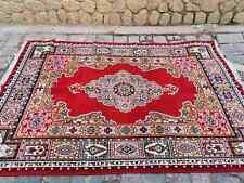 Vintage Morocco tepich, vintage woven knot rug