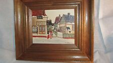 Original H.Hargrove oil Painting+Certificate of Authenticity+ Folk Art Painting