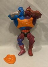 Two Bad MOTU Masters Universe vintage He-Man Flat Back Shield 1984 1985