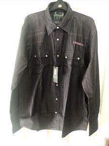 Le:breve Mens Shirt Size XL Bnwt