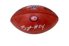 Stephon Gilmore New England Patriots Signed NFL Duke 100 Game Football JSA
