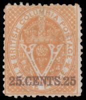 British Columbia #16 MH CV$1100