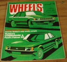1978.Wheels.XD Falcon.VB Holden.VOLVO 242 GT.SAAB.Honda CIVIC.Ford F100 Ad.