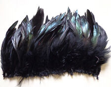 "50-500pcs Beautiful badger saddle pretty Rooster feathers 6-7""inch 9 color"
