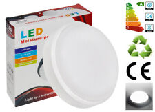 20W Round LED Flush Mount Ceiling Light IP65 Indoor Outdoor Bulkhead Lamp White
