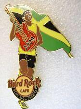 OCHO RIOS,Hard Rock Cafe Pin,RUNNER WITH FLAG * Closed Cafe*